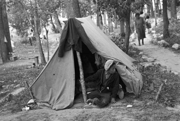 Photograph - Homeless Boy, 1937 by Granger