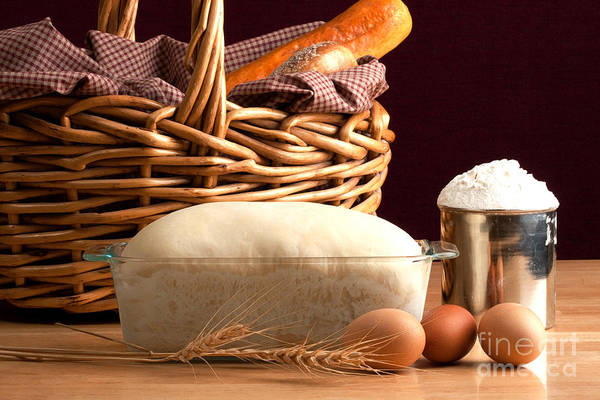 Egg Cup Photograph - Homemade Bread by Cindy Singleton