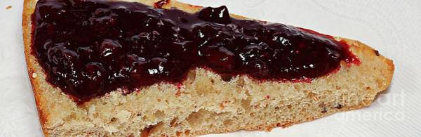 Wall Art - Photograph - Homemade Jam - Bread And Jam - Cook - Kitchen by Barbara Griffin