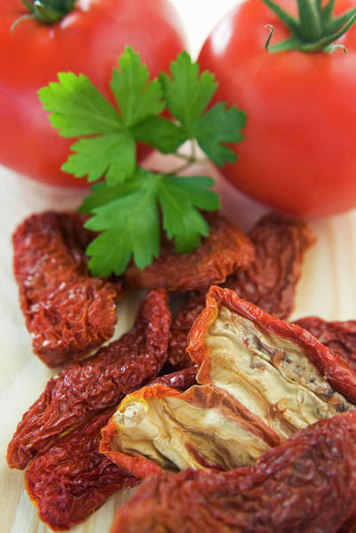 Italian Cuisine Photograph - Homemade Sun-dried Tomatoes by Nico Tondini