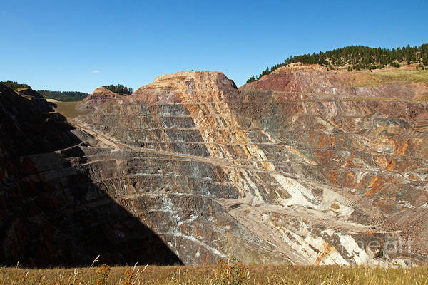 Photograph - Homestake Mine by Fred Stearns