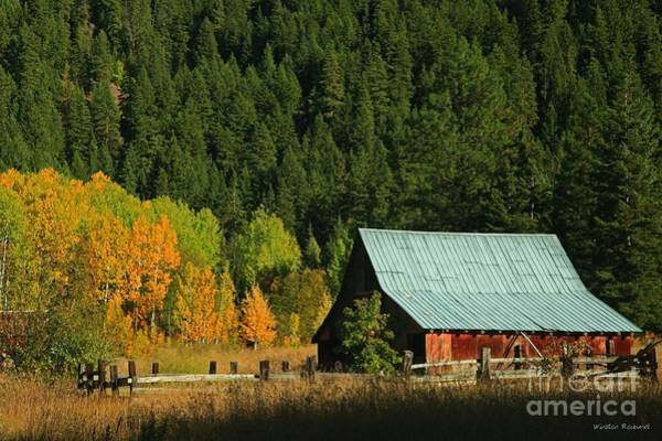 Wall Art - Photograph - Homestead Autumn by Winston Rockwell