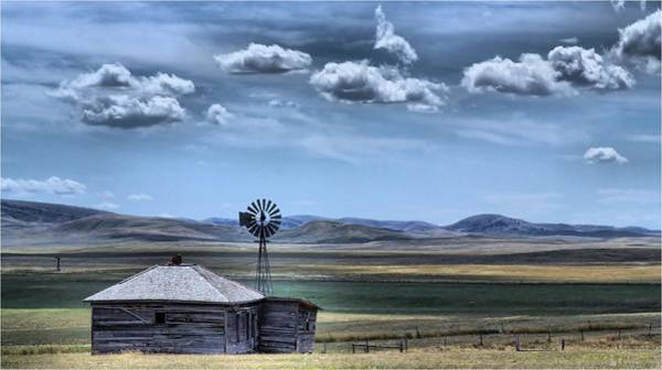 Photograph - Homestead by Donald J Gray