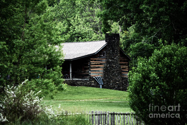 Wall Art - Photograph - Homestead Nestled In The Mountains by Eva Thomas