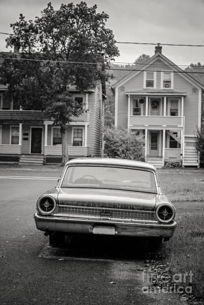 Yesterday Photograph - Hometown Usa Platium Print by Edward Fielding