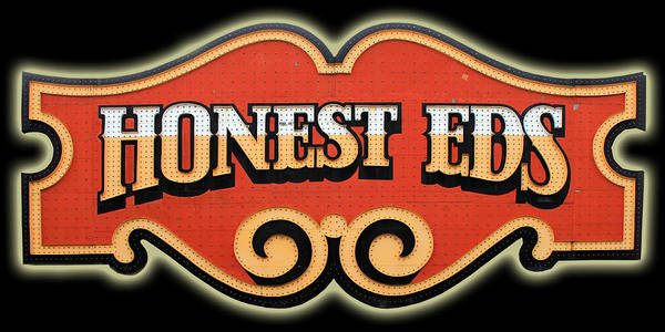 Photograph - Honest Eds 1 by Andrew Fare
