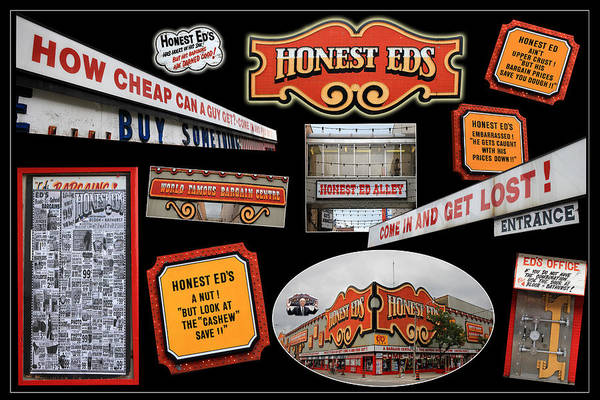 Photograph - Honest Eds 3 by Andrew Fare