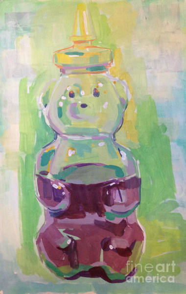 Wall Art - Painting - Honey Bear by Kimberly Santini