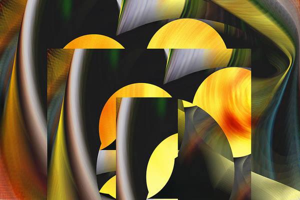 Digital Art - Honey Moon Rising - Roy by rd Erickson