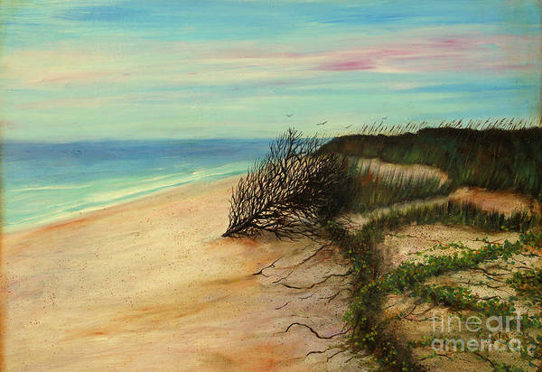 Wall Art - Painting - Honeymoon Island Florida by Gabriela Valencia