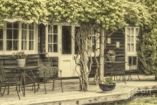Photograph - Honeysuckle Cottage by Elaine Teague
