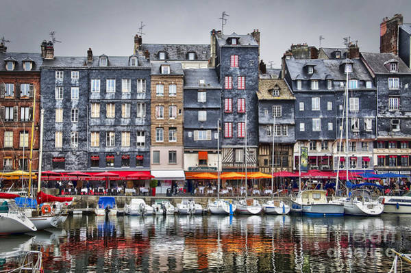 House Beautiful Photograph - Honfleur by Delphimages Photo Creations