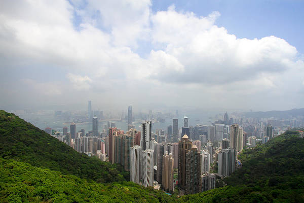 Photograph - Hong Kong Above And Below by Jenny Setchell