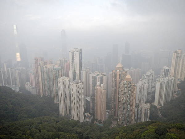 Hongkong Photograph - Hong Kong From The Sky by Jessica Gameros