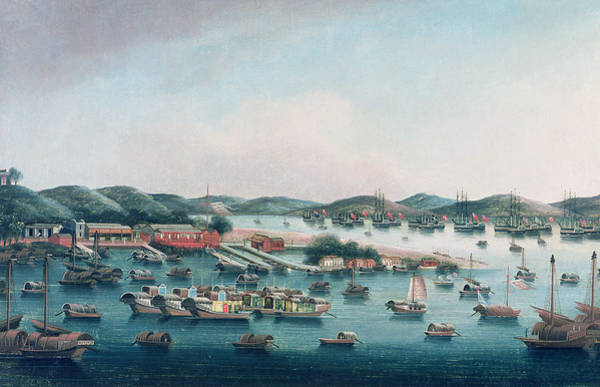 Hong Kong Harbor Art Print