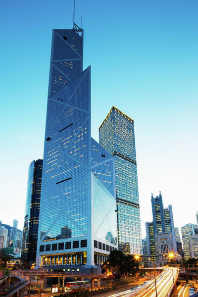 Central Business District Wall Art - Photograph - Hong Kong High Rise by Tomml