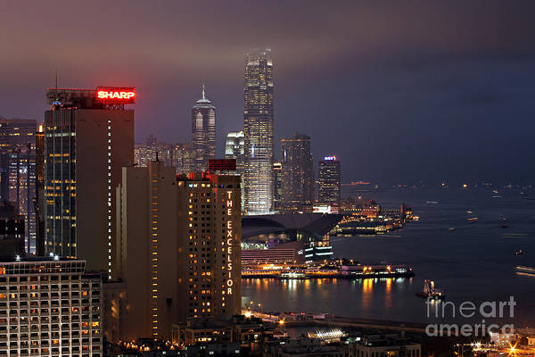 Wall Art - Photograph - Hong Kong by Lars Ruecker