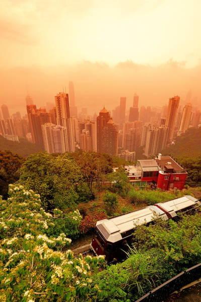 Photograph - Hong Kong by Songquan Deng