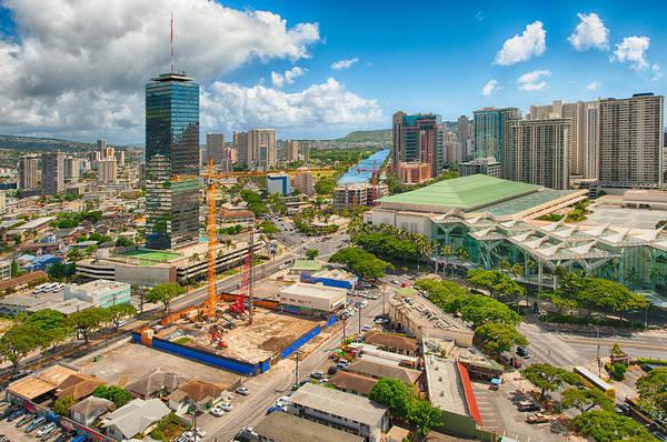 Photograph - Honolulul In Progress by Dan McManus