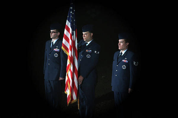 Honor Guard Photograph - Honor Guard by Karol Livote