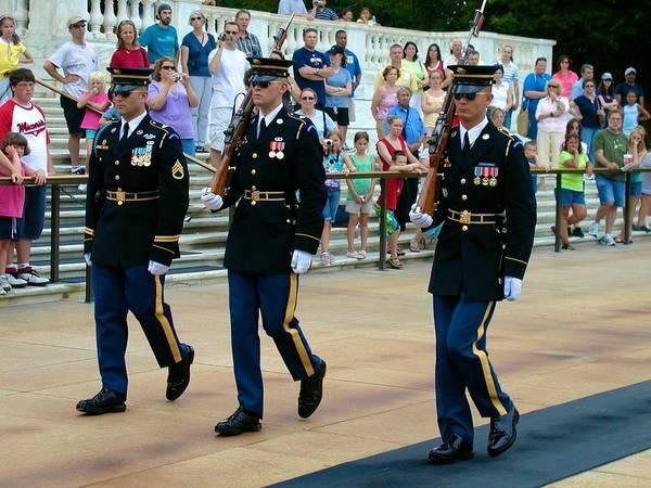 Photograph - Honor Guard by Ricardo J Ruiz de Porras