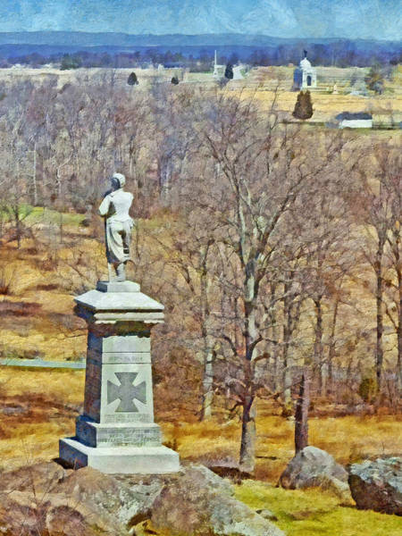 Digital Art - Honoring The American Heroes Of Gettysburg - 2 by Digital Photographic Arts