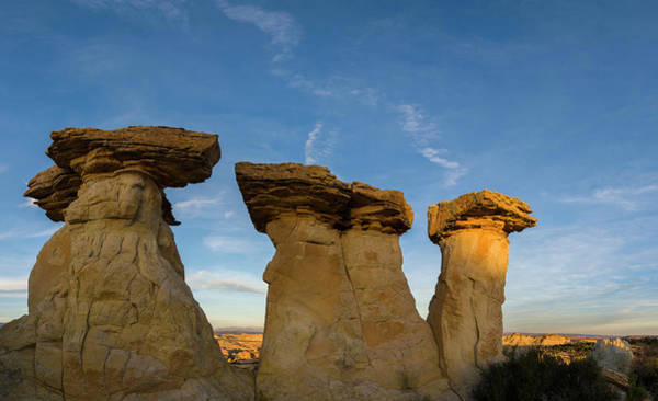 Grand Staircase National Monument Photograph - Hoodoo Rock Formations, Grand by Panoramic Images