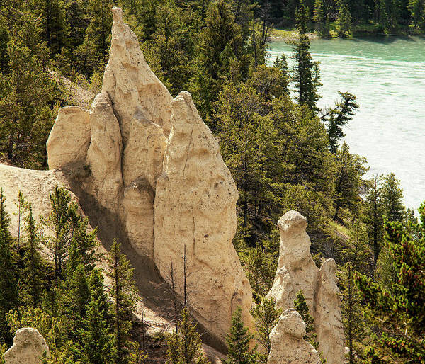 Hoodoos Photograph - Hoodoo Rock Formations by Steve Allen/science Photo Library