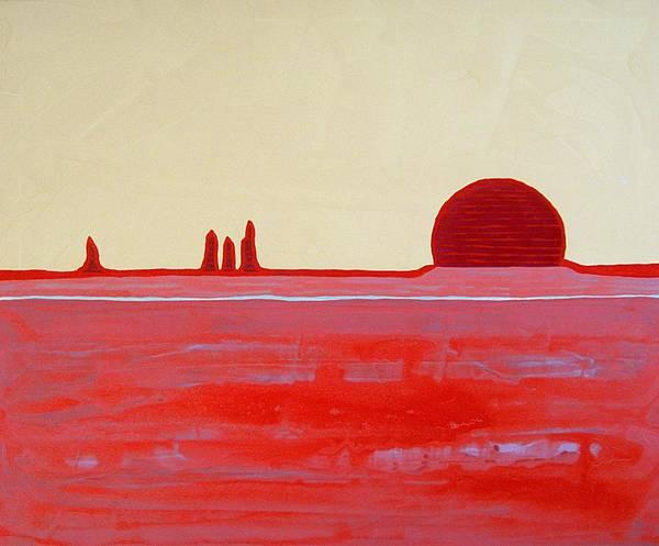Painting - Hoodoo Sunrise Original Painting by Sol Luckman