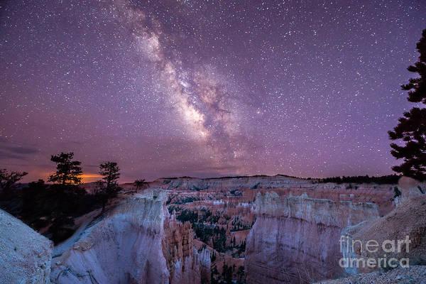 Hoodoos Wall Art - Photograph - Hoodoos Under The Milky Way by Michael Ver Sprill