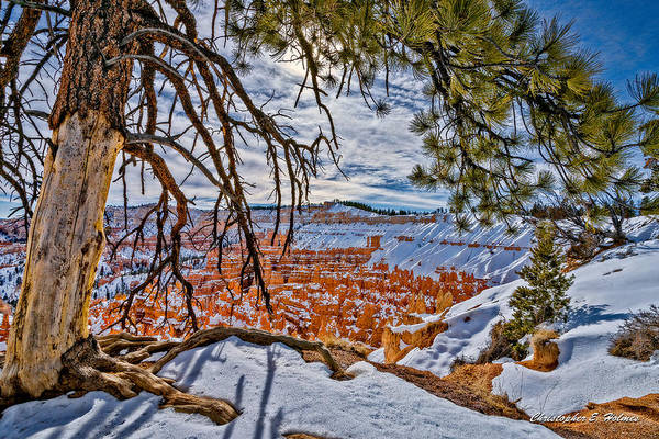 Photograph - Hoodos In Winter by Christopher Holmes