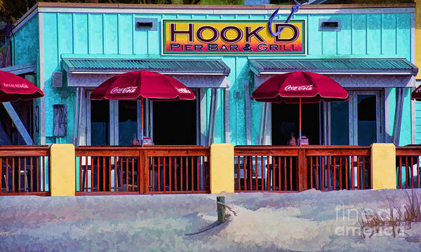 Photograph - Hooked Grill  by Dave Bosse