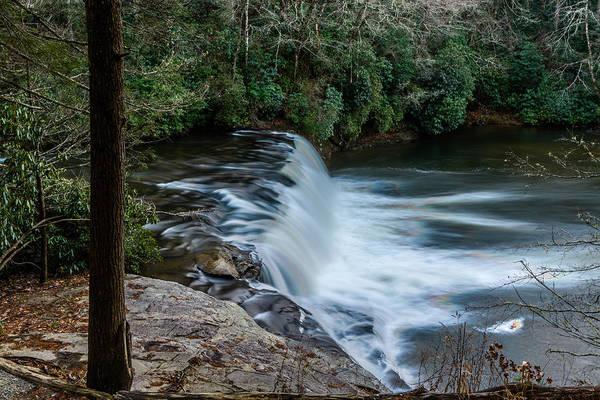 Photograph - Hooker Falls Top View by Randy Scherkenbach
