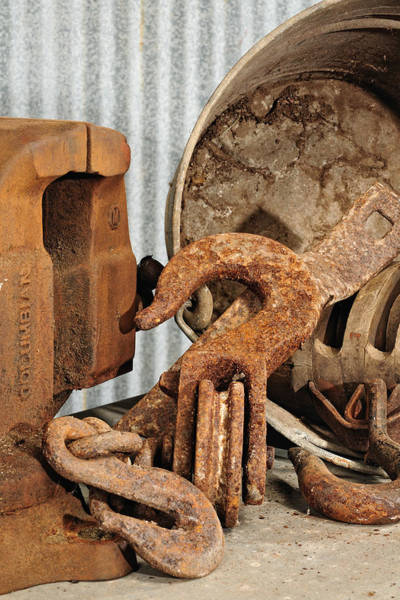 Photograph - Hooks And A Vice by John Kiss