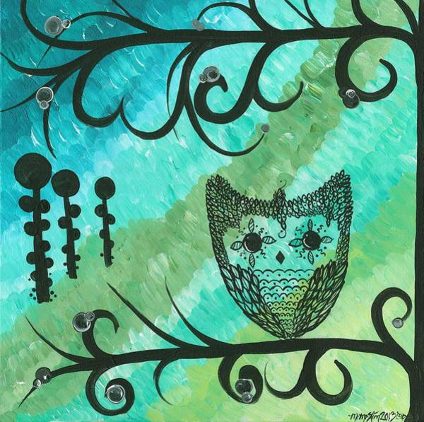 Painting - Hoolandia Contrasts 04 by MiMi  Stirn