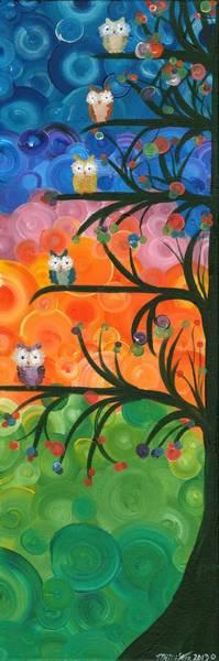 Painting - Hoolandia Family Tree 01 by MiMi  Stirn