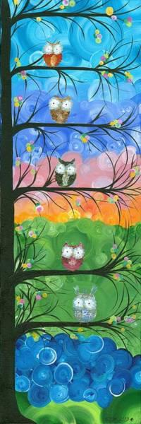 Painting - Hoolandia Family Tree 02 by MiMi  Stirn