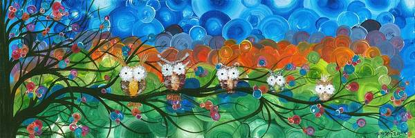 Painting - Hoolandia Family Tree 03 by MiMi  Stirn
