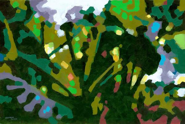 Tropical Plants Painting - Ho'omaluhia 2 by Douglas Simonson