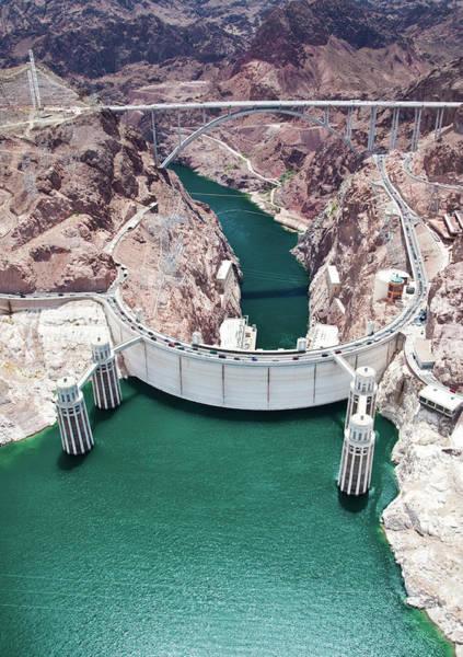 Wall Art - Photograph - Hoover Dam.  Arizona Nevada by Jennifer sharp