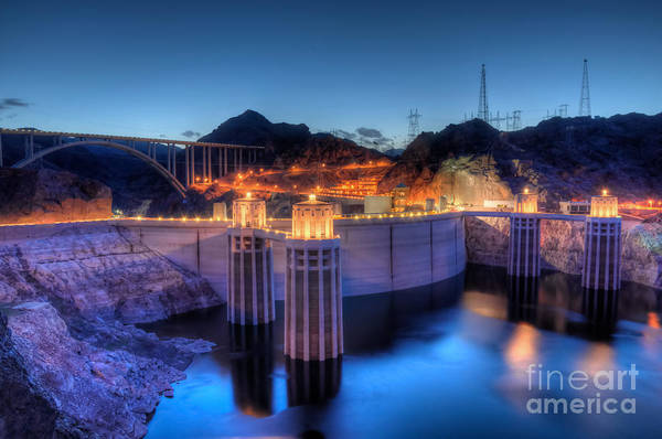 Photograph - Hoover Dam by Eddie Yerkish