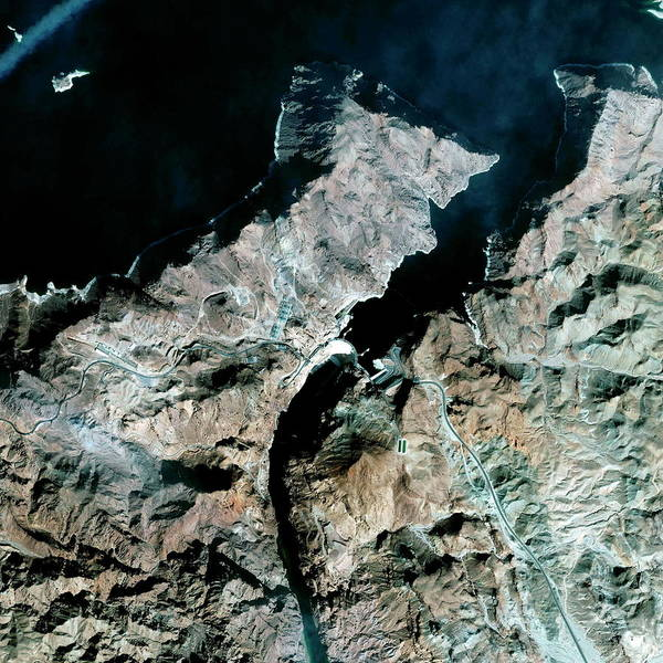 Wall Art - Photograph - Hoover Dam by Geoeye/science Photo Library