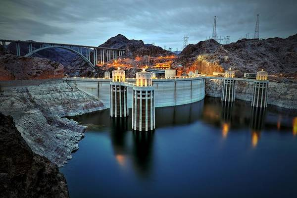 Photograph - Hoover Dam by Mark Ross