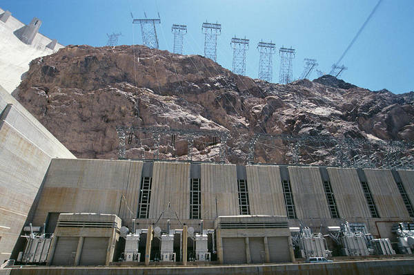 State Of Colorado Photograph - Hoover Dam by Paul Avis/science Photo Library