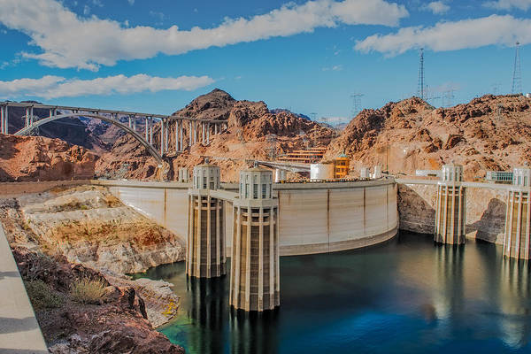 Wall Art - Photograph - Hoover Dam Reservoir by Paul Freidlund