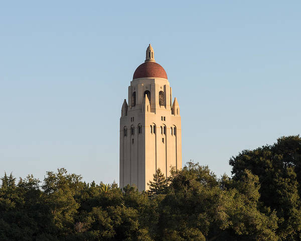 Photograph - Hoover Tower Stanford University by Priya Ghose