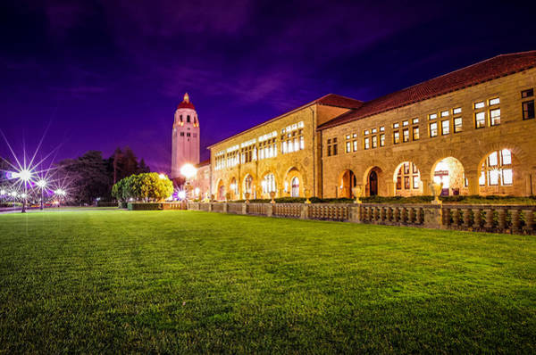 Hoover Tower Stanford University Art Print