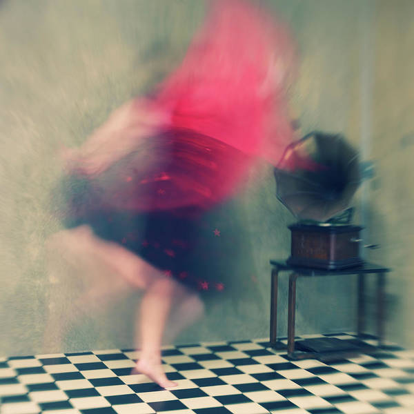 Painterly Photograph - Hop Skip And Jump by Mel Brackstone