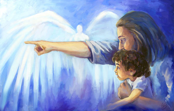 Wall Art - Painting - Hope by Tamer and Cindy Elsharouni