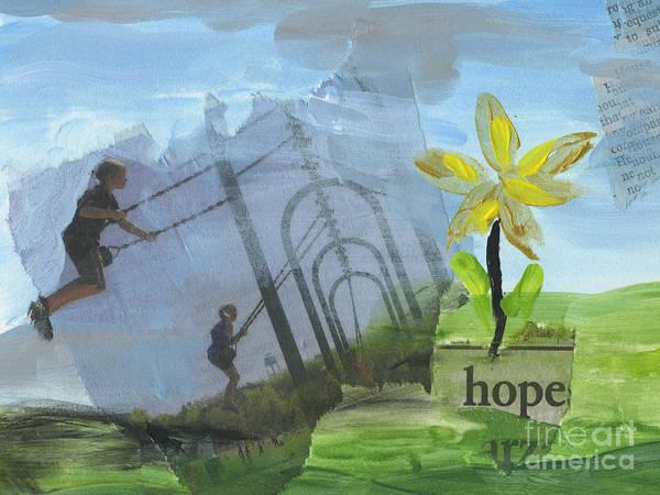 Wall Art - Painting - Hope by Ellen Moore Osborne